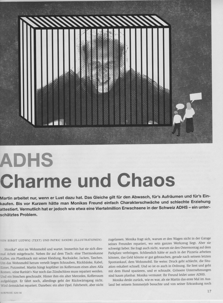 Surprise Strassenmagazin ADHS 1